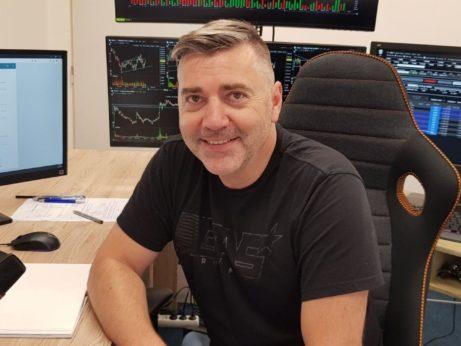 trading room David Ševčík foto